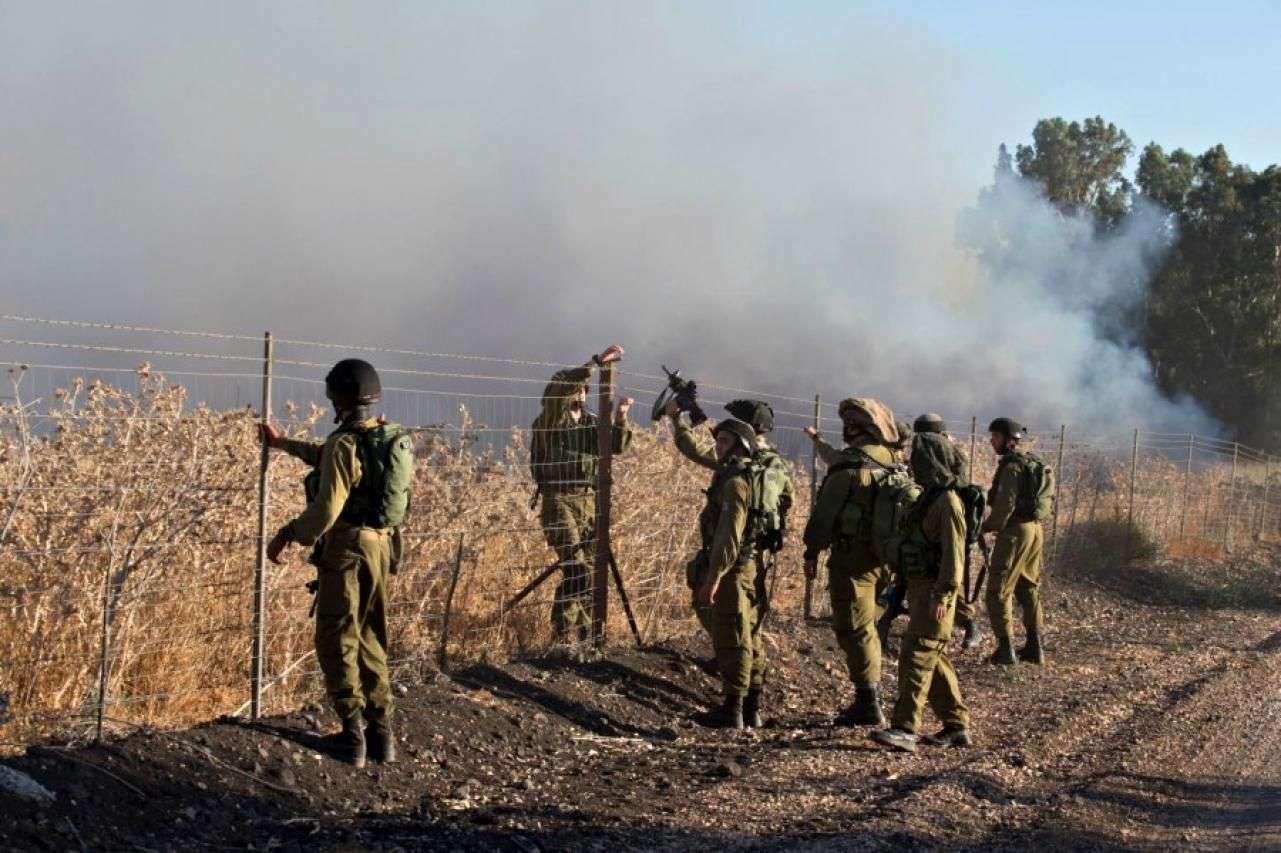 izraelska vojska potvrdila zračni napad na ciljeve u siriji