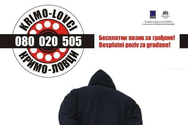 'Krimolovci' u aprilu zaprimili 734 prijave