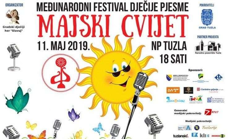 Međunarodni festival dječije pjesme 'Majski cvijet' u subotu u Tuzli