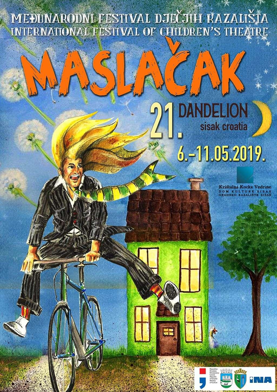 'Čudovište iz ormara' Pozorišta mladih Tuzle na ovogodišnjem dječijem festivalu 'Maslačak'
