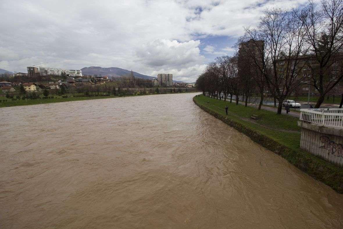 Vodostaji rijeka Bosne i Fojnice u Visokom u normalnim granicama