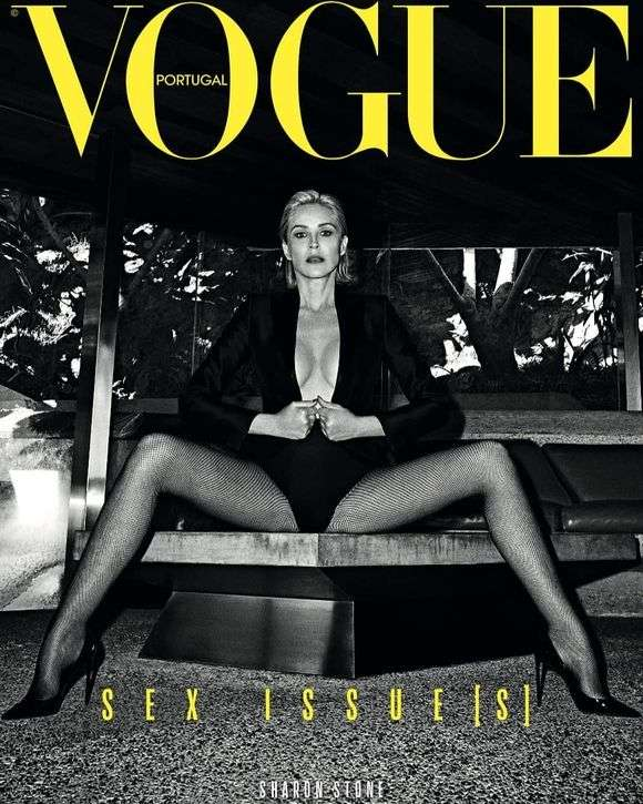 Godine joj ne mogu ništa: Sharon Stone krasi naslovnicu portugalskog Voguea