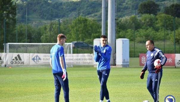 talentovani golmani u mladoj u-21 reprezentaciji bih pred susret s maltom