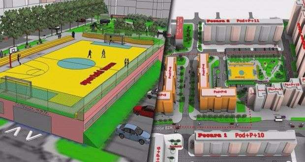gradsko vijeće tuzla danas o regulacionom planu gdje bi bingo trebao graditi stambene i poslovne objekte (foto)