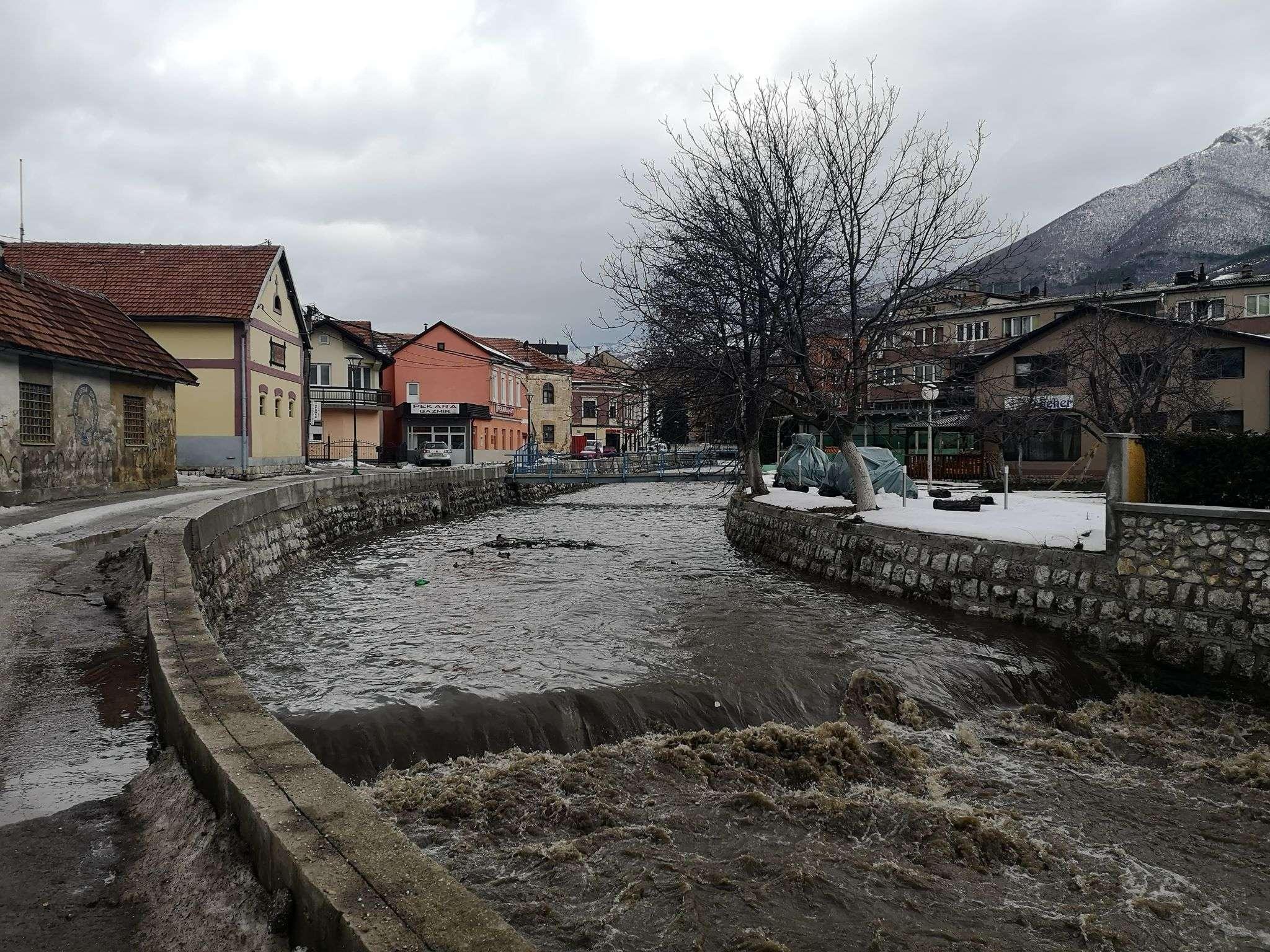 Vodostaj rijeka na području FBiH stagnira ili je u opadanju