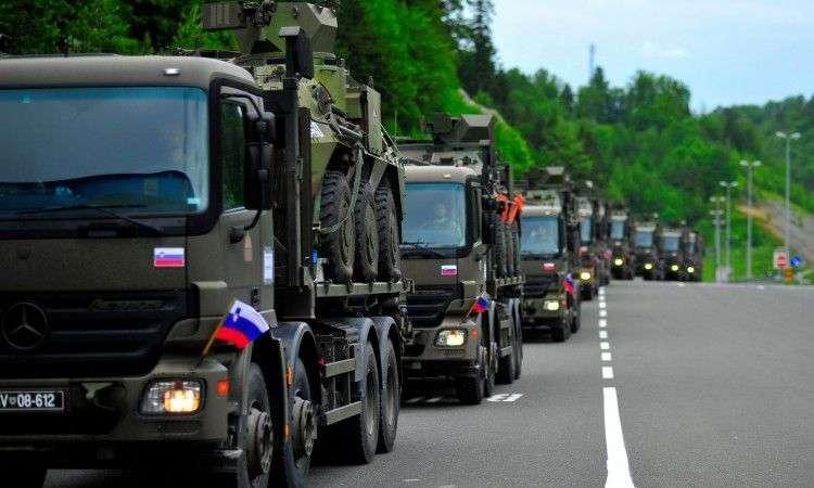 snage crne gore, bih, sjeverne makedonije i slovenije na vojnoj vježbi u rh