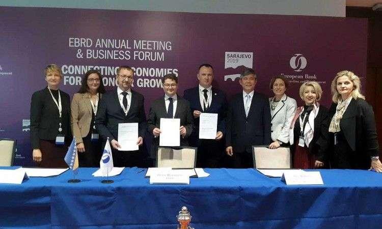 Kozlić potpisao memorandum o saradnji o dualnom obrazovanju sa EBRD-eom