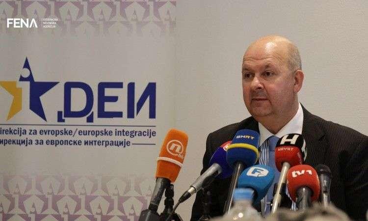 dilberović: proces eu integracija je 'pokretna meta'
