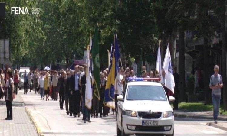 džaferović: nedopustivo da šehidska djeca budu bez posla (video)