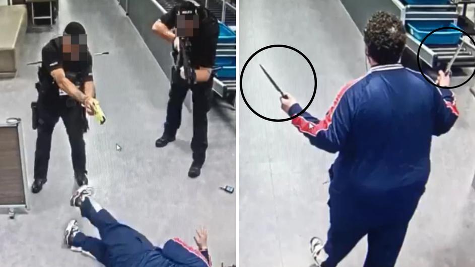 haos u londonu: ušetao s noževima na aerodrom, smijao se i govorio 'sve ću vas pobiti!' (foto)