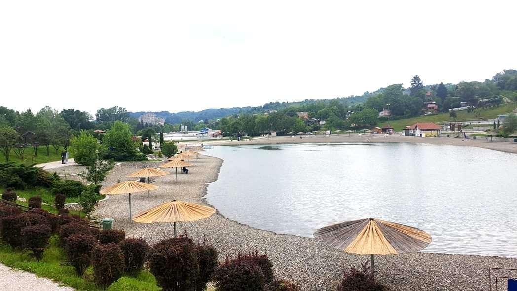 foto sve spremno za otvaranje ljetne sezone na kompleksu panonskih jezera u tuzli