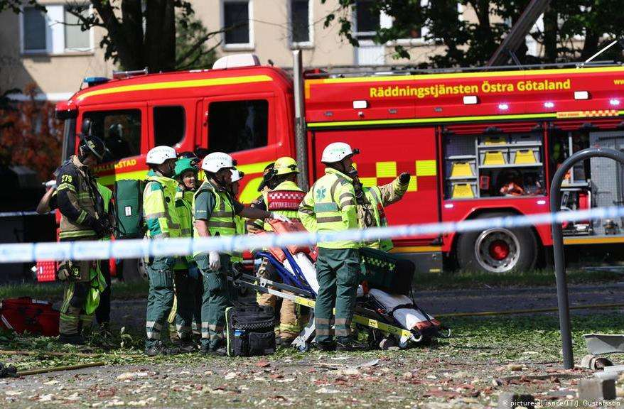 u eksploziji u švedskom gradu linkopingu povrijeđeno 19 ljudi