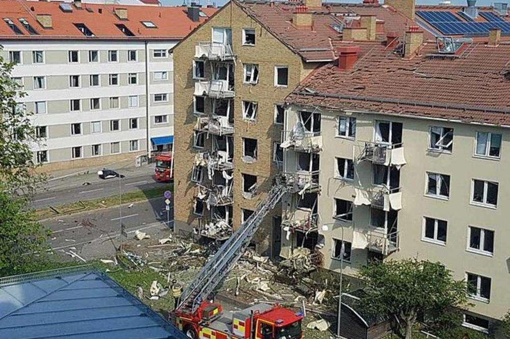 velika eksplozija u švedskoj, više povređenih!