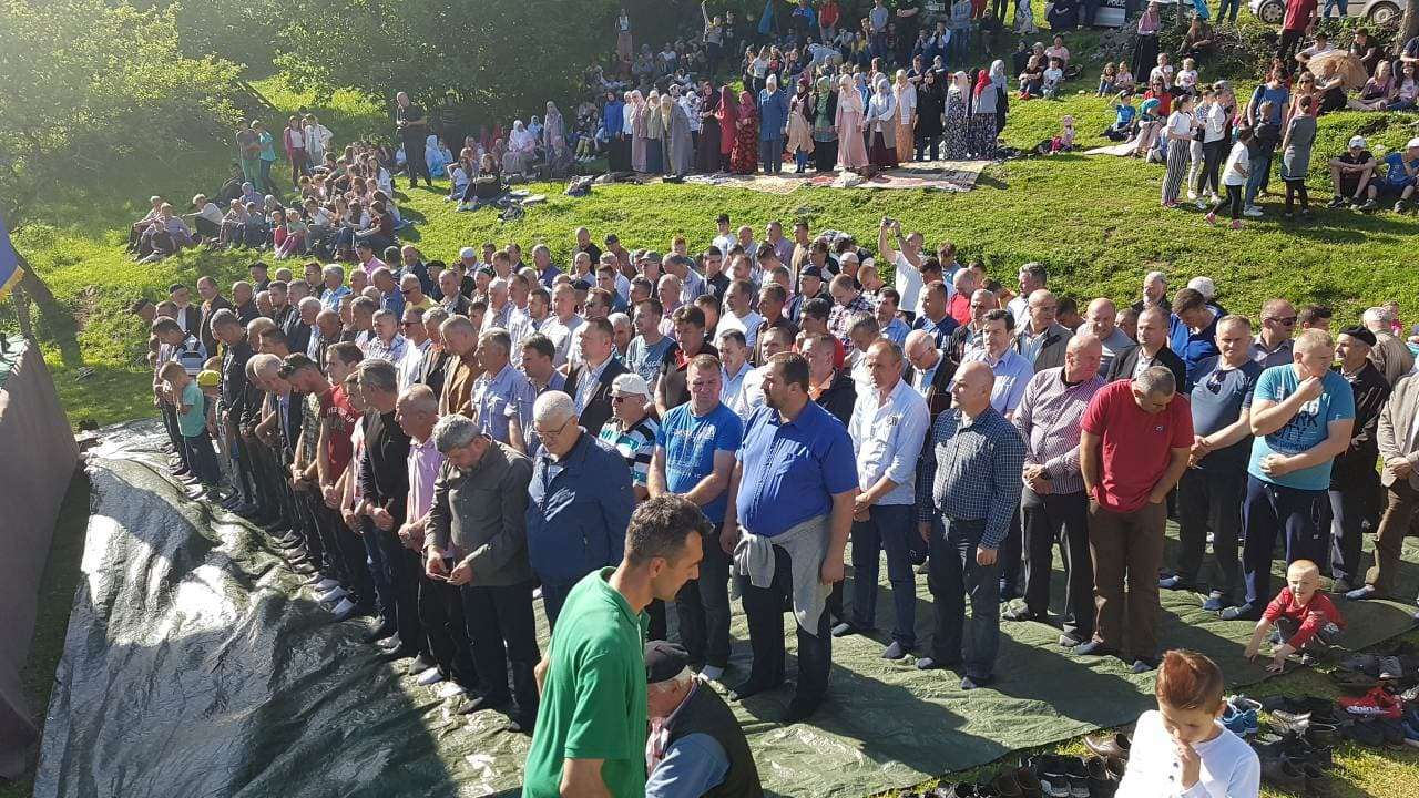 (foto/video) u velikoj bukovici prisjećanje na sve stradale bošnjake s područja općine travnik