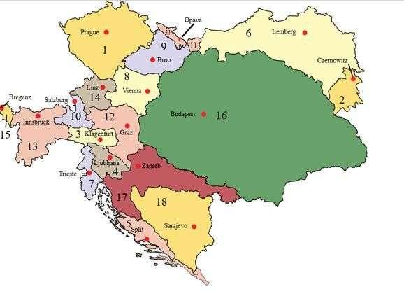 sloveniju razbjesnila karta 'velike mađarske' na twitteru orbanove vlade!