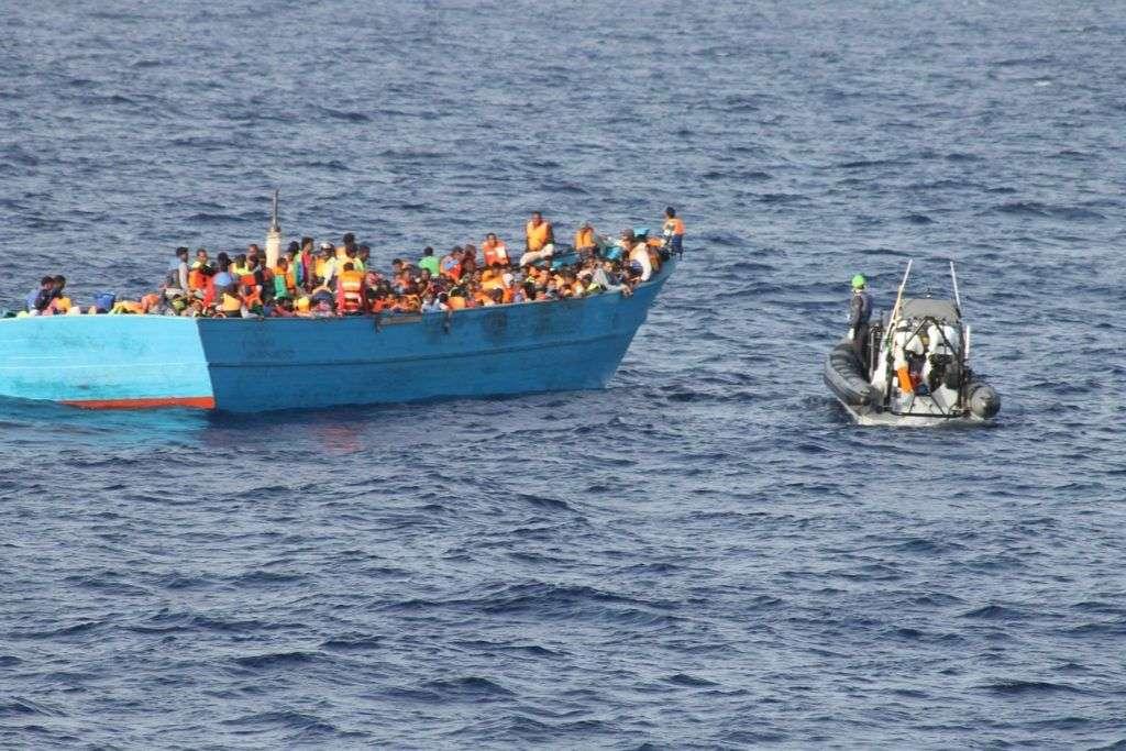 pripadnici libijske mornarice spasili 22 migranta