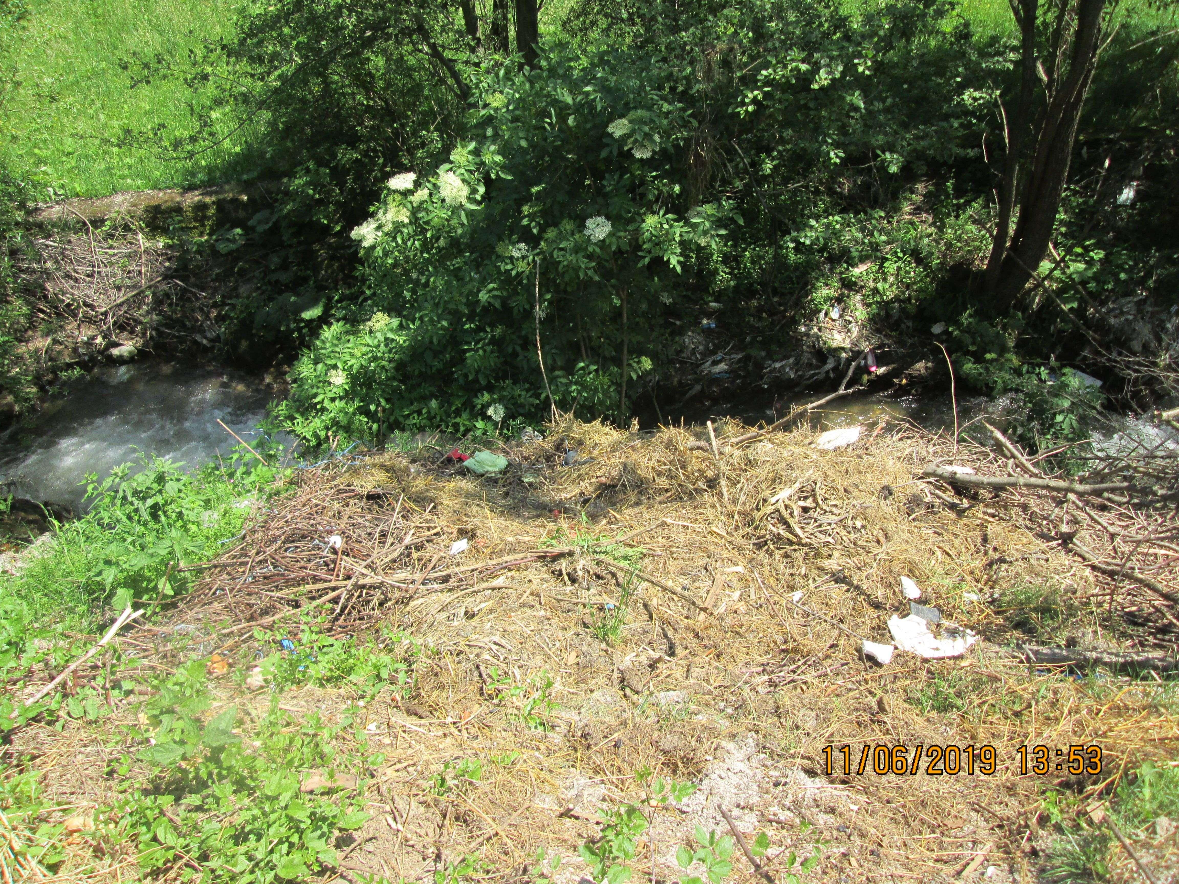 novi travnik: u očišćena korita rijeka ponovno se baca smeće