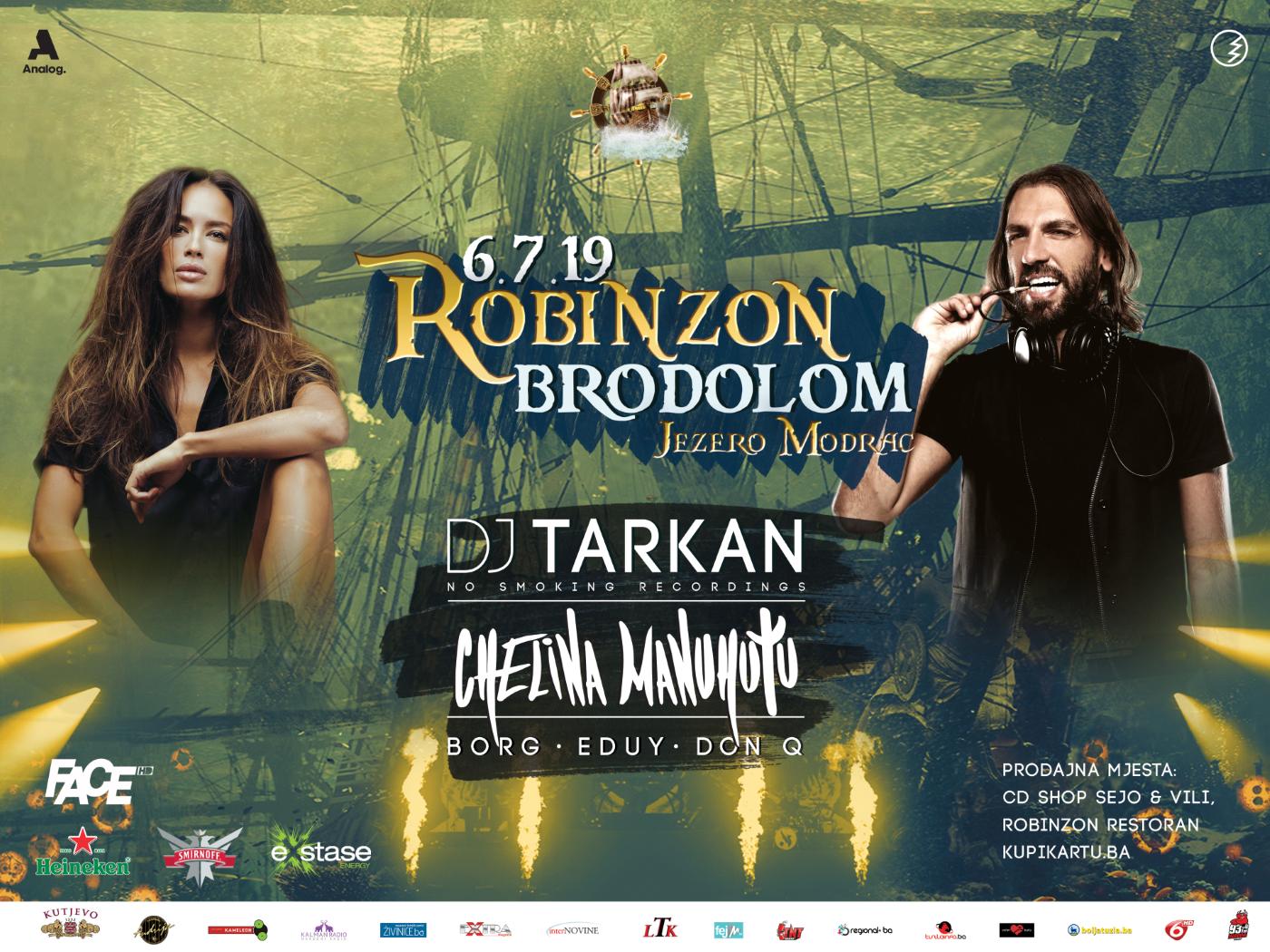 robinzon najavljuje brodolom 2019 na jezeru modrac!