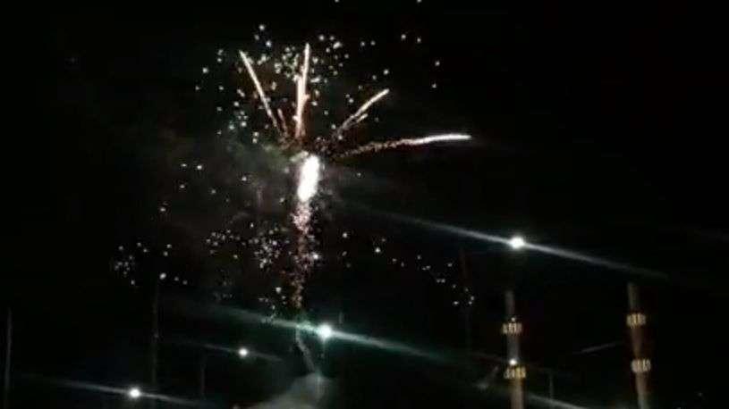 (video) prelijep prizor na kalibunaru: vatrometom označen kraj ramazana