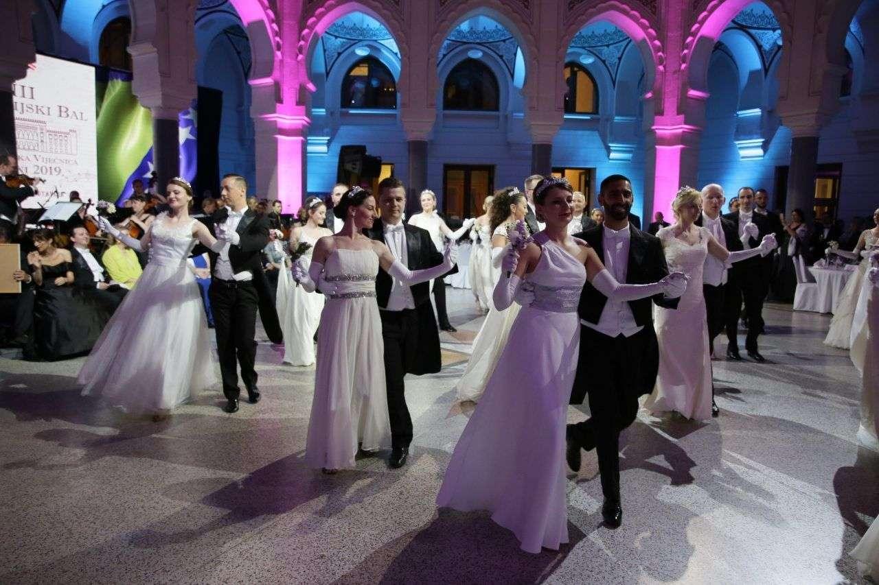 maja miralem zasjala na austrijskom balu u vijećnici