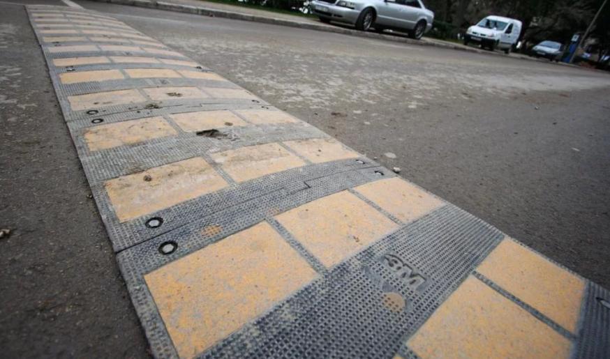 izgradnja usporivača brzine na sjevernoj gradskoj saobraćajnici u tuzli