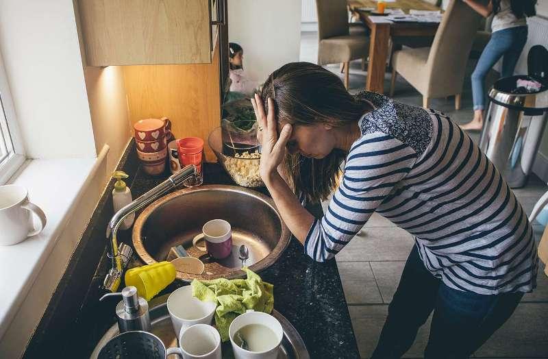 roditeljima najveći stres nered po kući!