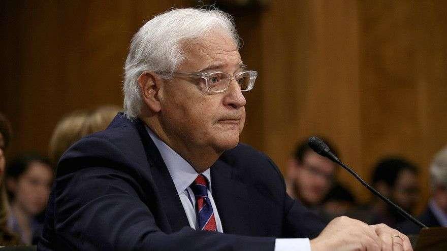 šef palestinske diplomatije kritikovao friedmana za pomaganje izraelu