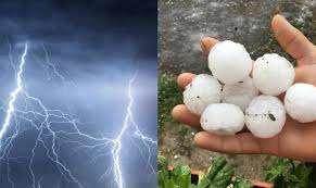 upozorenje / tokom dana kiša, pljuskovi i grmljavina, moguć i grad