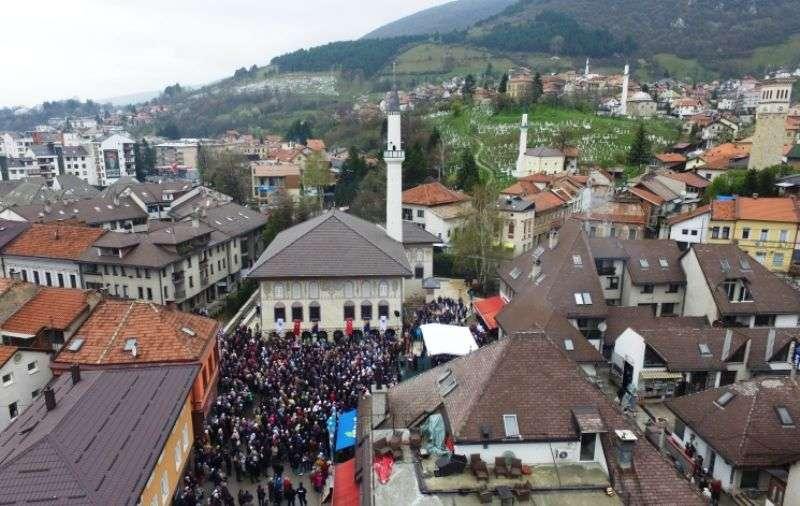 (video) centralna bajramska svečanost za muftijstvo travničko održana je u šarenoj džamiji u travniku