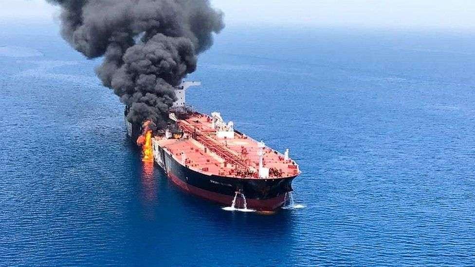"""ministri eu upozoravaju na """"preuranjene zaključke"""" oko napada na naftne tankere"""