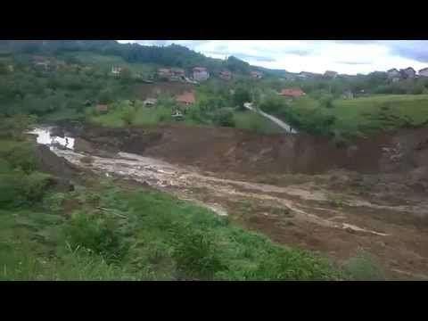 poplave zadaju nove probleme: u kalesiji klizišta i velika materijalna