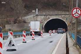 jp ceste fbih - radovi na tunelu vranduk