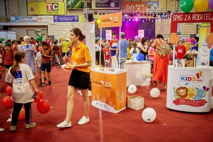 na kid's festivalu učestvovalo oko 5000 djece iz cijele bih