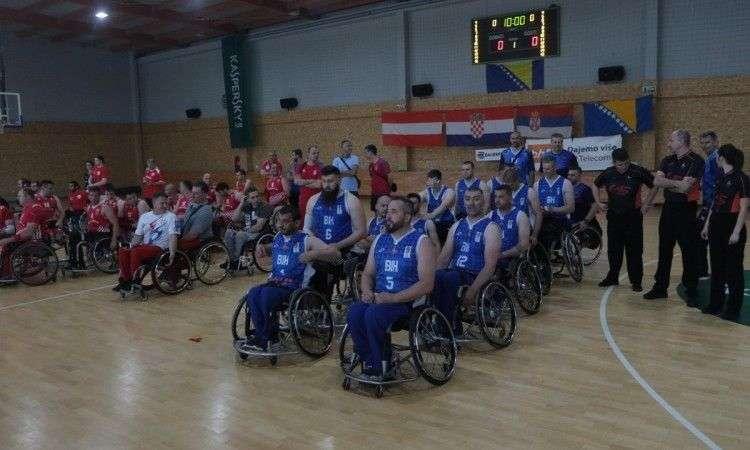 u sarajevu počeo turnir u košarci u kolicima 'zajedno za košarku'