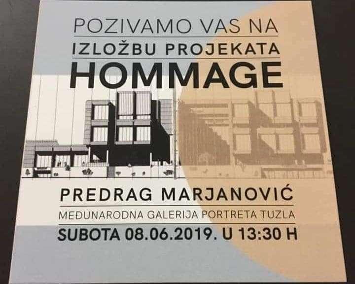 međunarodna galerija portreta tuzla: u subotu izložba projekata i fotografija posvećena profesoru predragu marijanoviću
