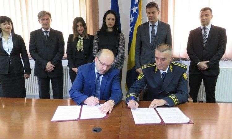 potpisan protokol o saradnji pu fbih i uprave policije mup-a bpk goražde