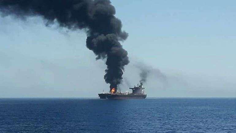 sad optužuju iran za napade na tankere, teheran negira