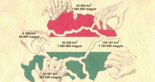 sloveniju razbjesnila karta 'velike mađarske'