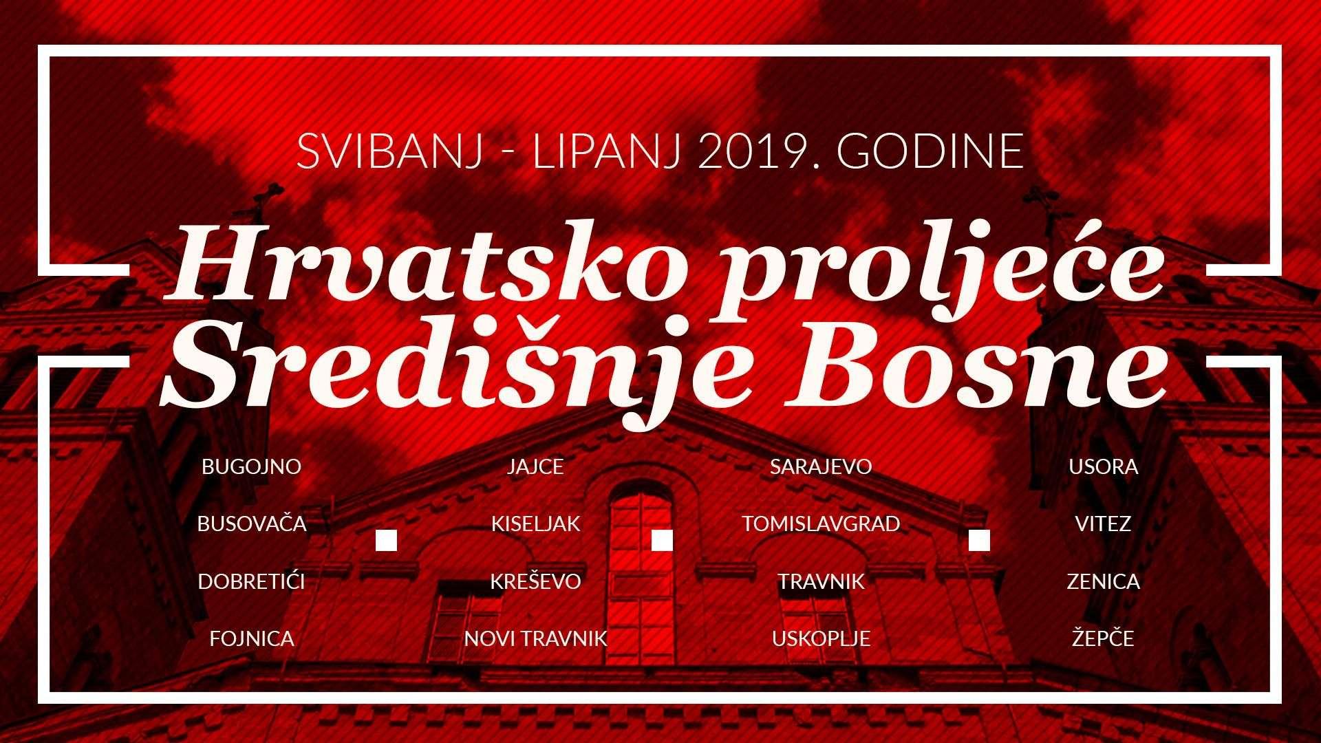 """""""hrvatsko proljeće"""" ove sedmice u busovači, kreševu, dobretićima i uskoplju"""