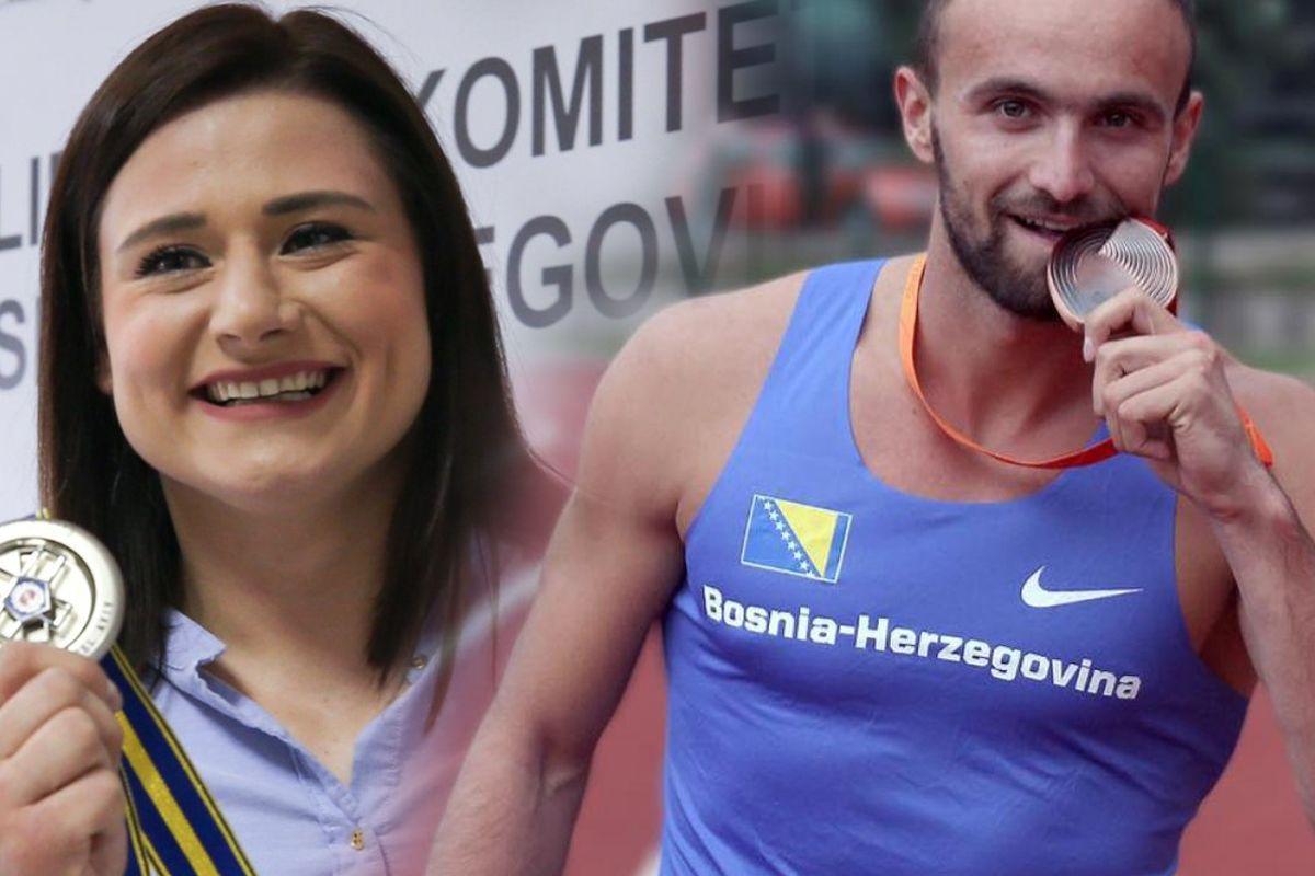 Podrška sportistima: Amel Tuka, Larisa Cerić i Mesud Pezer dobili po 15.000 KM
