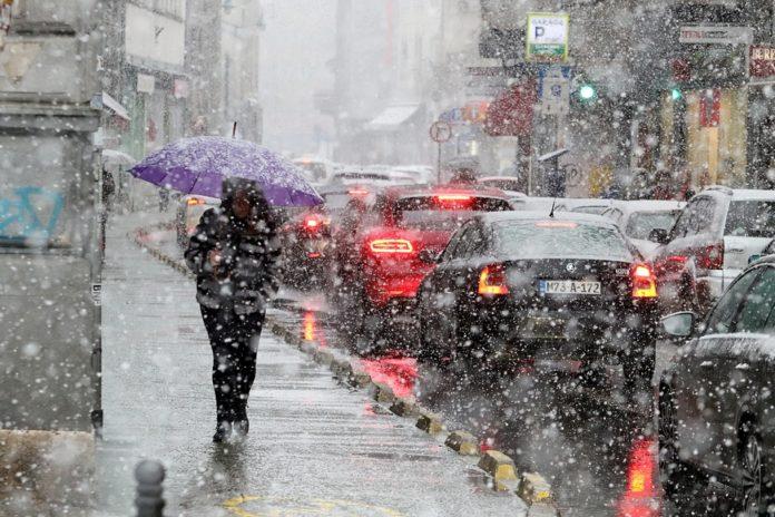 Za vikend opet kiša i snijeg