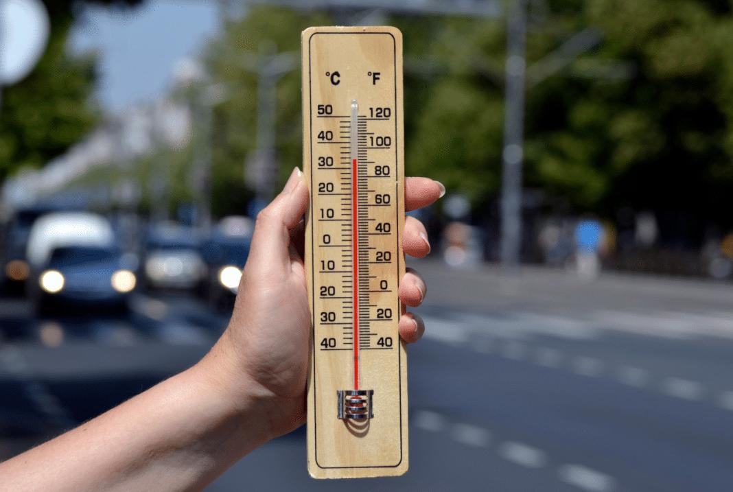 žuti meteolarm zbog visoke dnevne temperature i grmljavine