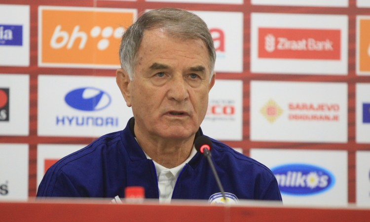 bajević objavio spisak igrača za novembarske utakmice