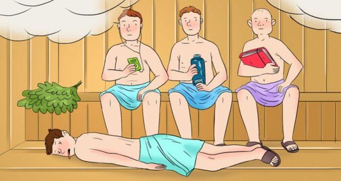 Detektivska mozgalica: Otkrijte ko je ubica u sauni