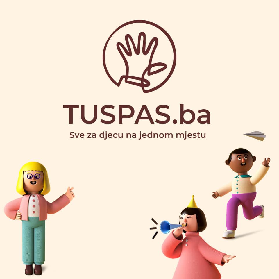 TUSPAS.ba/ Prva booking platforma za roditelje, sve na jednom mjestu
