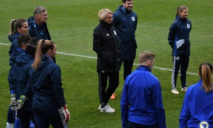 Nogometašice BiH očekuju pobjedu za kraj kvalifikacija