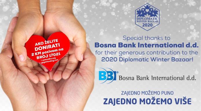 BBI banka podržala rad Diplomatskog zimskog bazara
