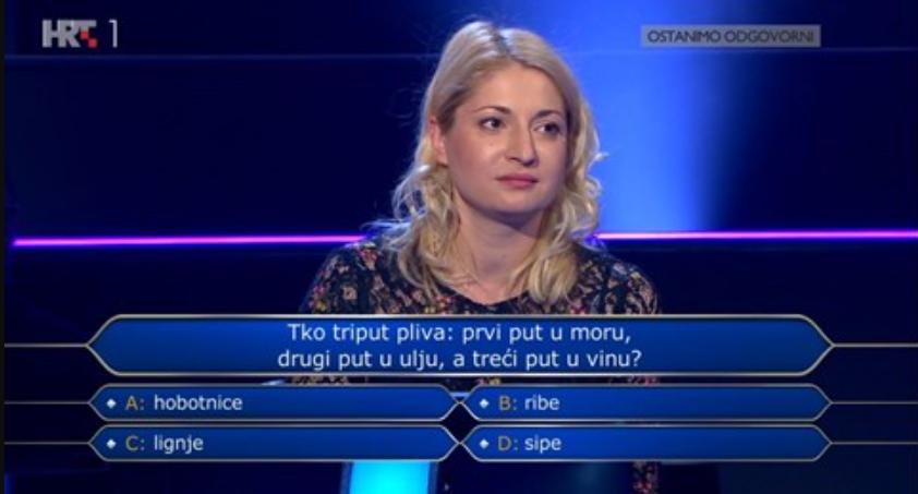 u milijunašu jedva dogurala do 8000 kuna, znate li vi odgovore na njena pitanja?