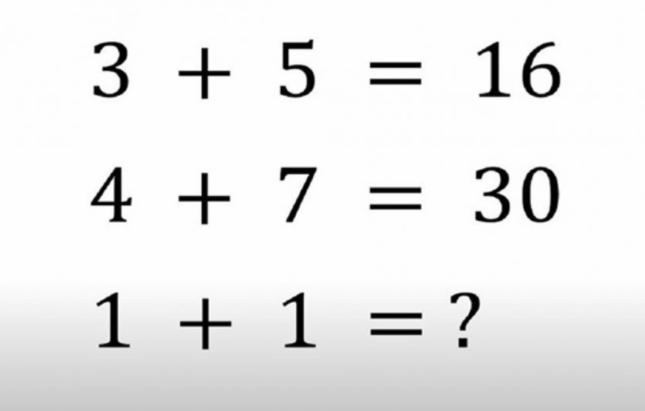 Matematička mozgalica: Koje je tačno rješenje?