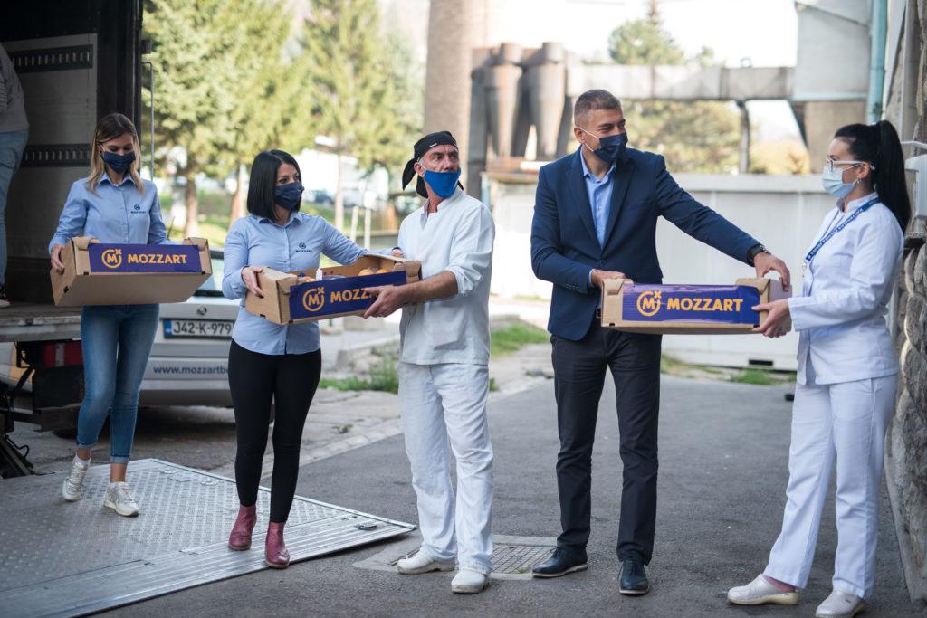 Podrška ljekarima da istraju u borbi – donacije Mozzarta u 19 zdravstvenih ustanova!